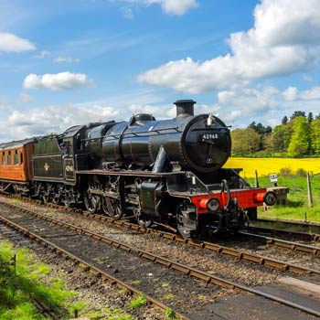 Severn Valley Railway & Horse Drawn Canal Cruise Break