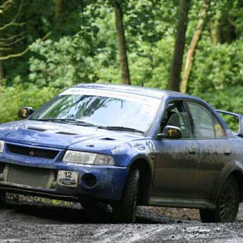 Mitsubishi Lancer Evolution Rally Picture