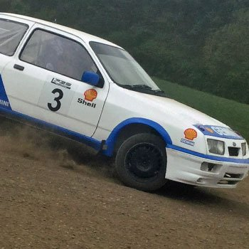 Sierra Cosworth Rally Driving