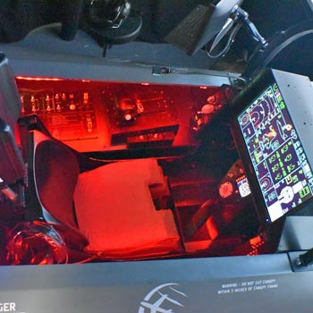 F35 Combat Simulator Suffolk Picture