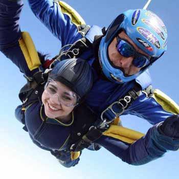 Parachuting in Devon