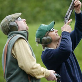 Clay Pigeon Shooting Wiltshire Picture