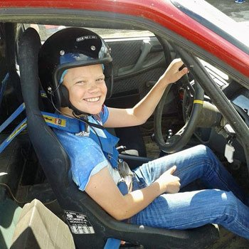 Junior Rally Driving in Oxfordshire
