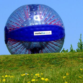 Zorbing Manchester Picture