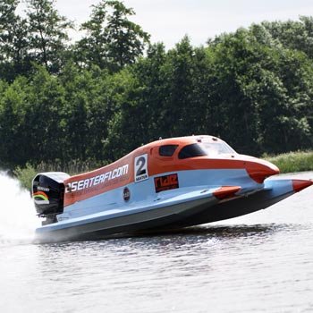 F1 Powerboat Ride Experience