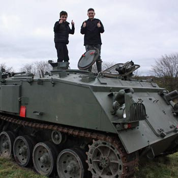 Junior Tank Driving