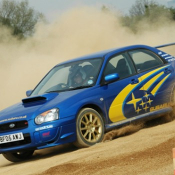 Junior Rally Driving In Leicestershire Picture