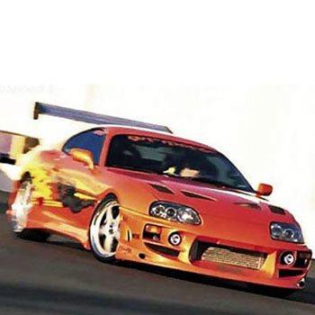 Toyota Supra Driving