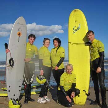 Surfing Sunderland