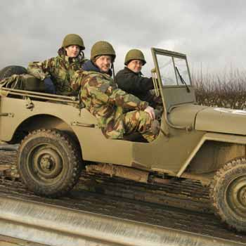Military Driving in Leicestershire