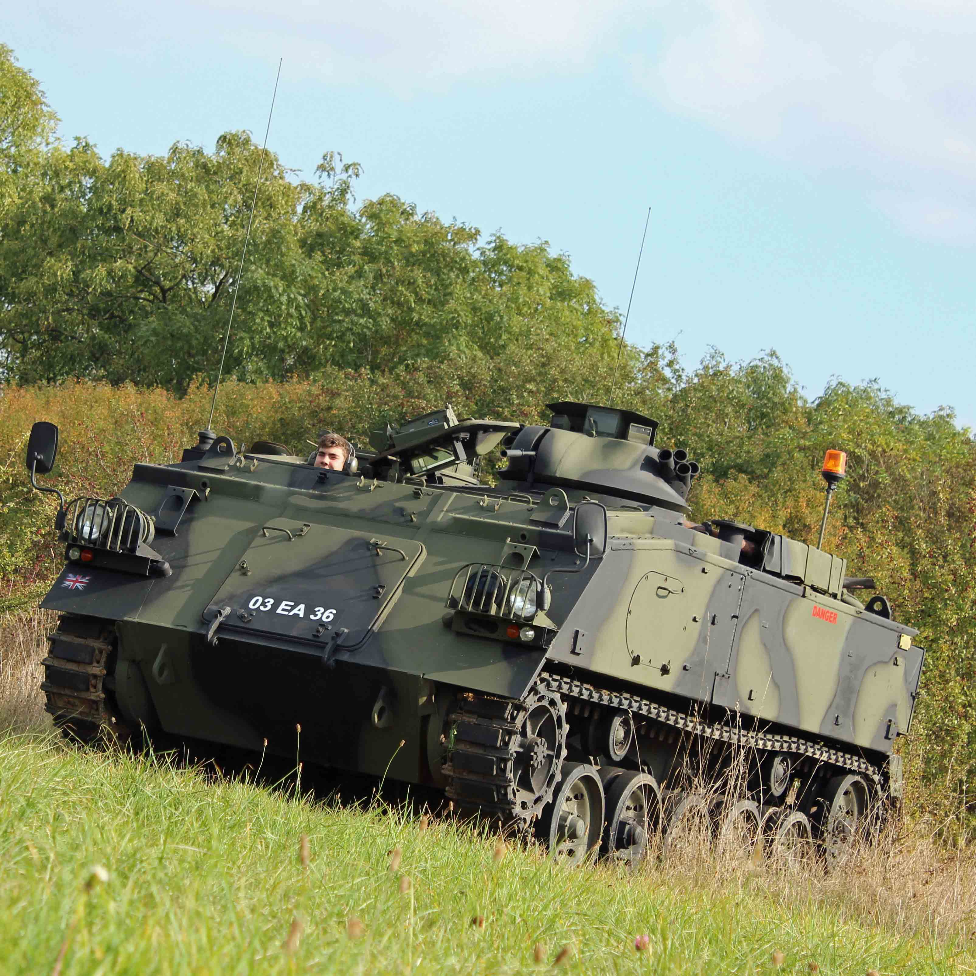 Tank Driving Oxfordshire