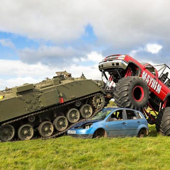Tanks & Monster Trucks