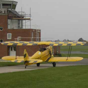 Stampe Flight in Gloucestershire