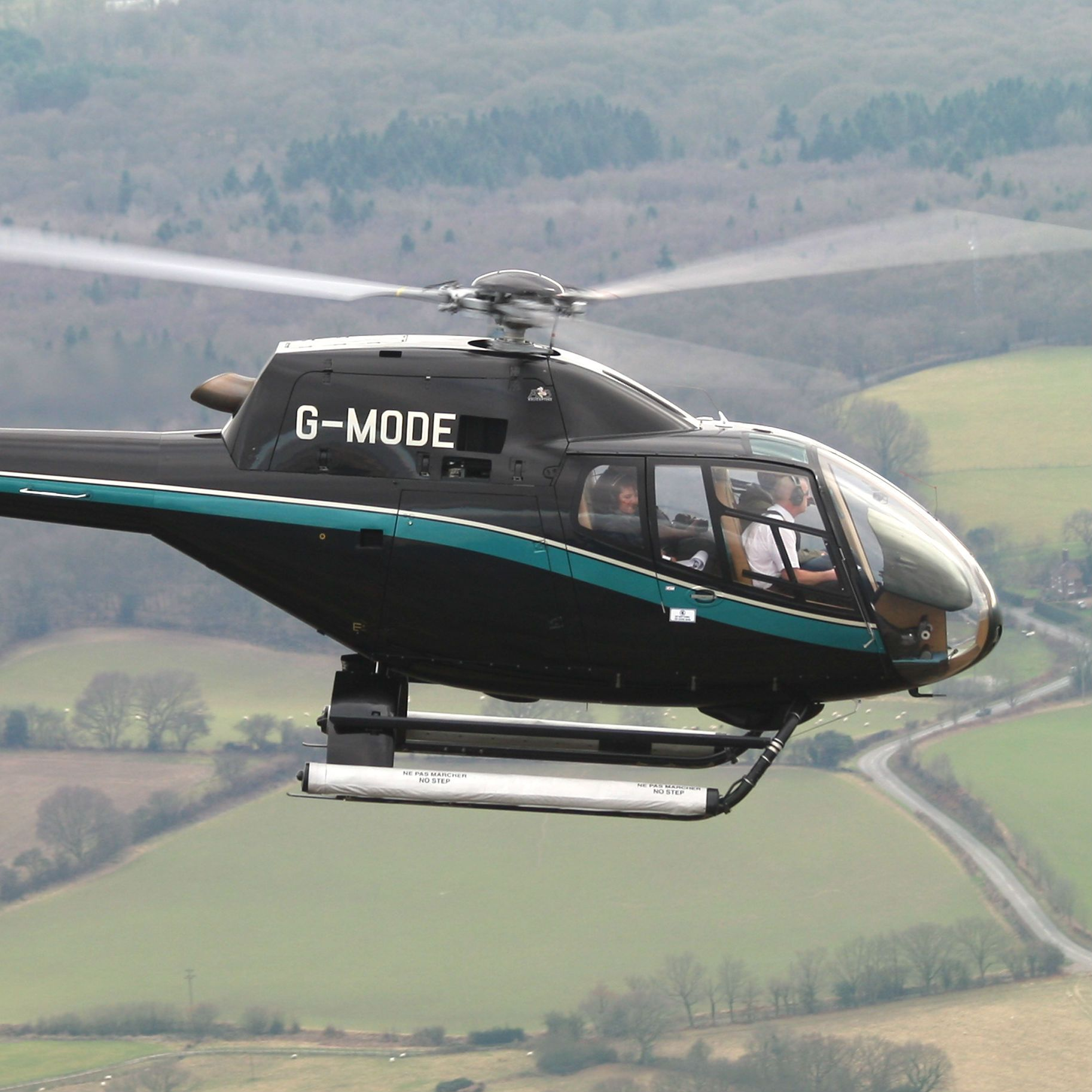 Helicopter Sightseeing Tour Kent Location