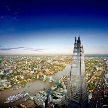 The Shard & Londons Highest Champagne Bar