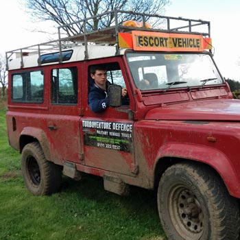 Teen Land Rover Driving Newcastle Picture