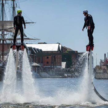 Flyboarding in the UK