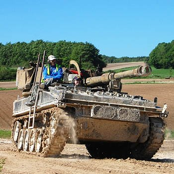 Tank Driving In Hampshire Picture