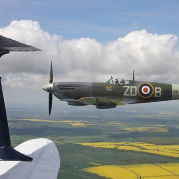 Wing to Wing with a Spitfire Experience, Squadron Leader