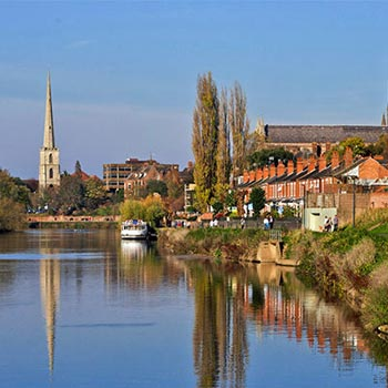 The Cotswolds & River Avon Cruising for Two