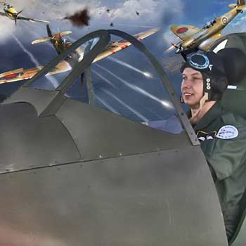 Virtual Reality Spitfire Simulator Picture