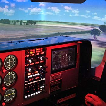 Cessna Flight Simulator Picture