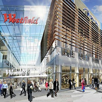 Two Night Westfield Shopping Break for Two