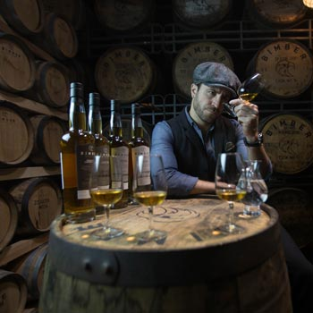 Whisky Connoisseur At Bimber Distillery Picture