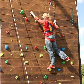 Group Climbing Wall Warwickshire Picture