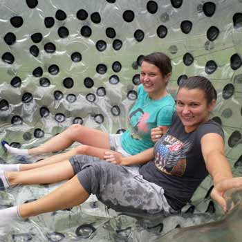 Zorbing London Picture