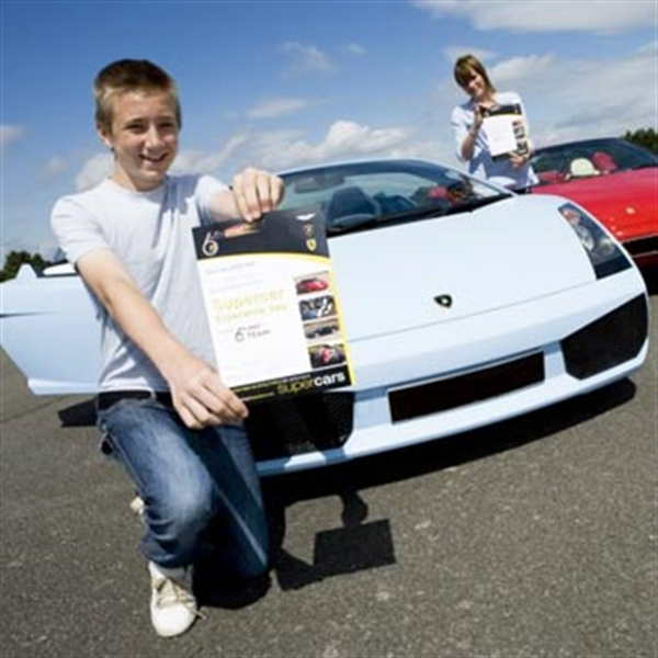 kid with driving certificate