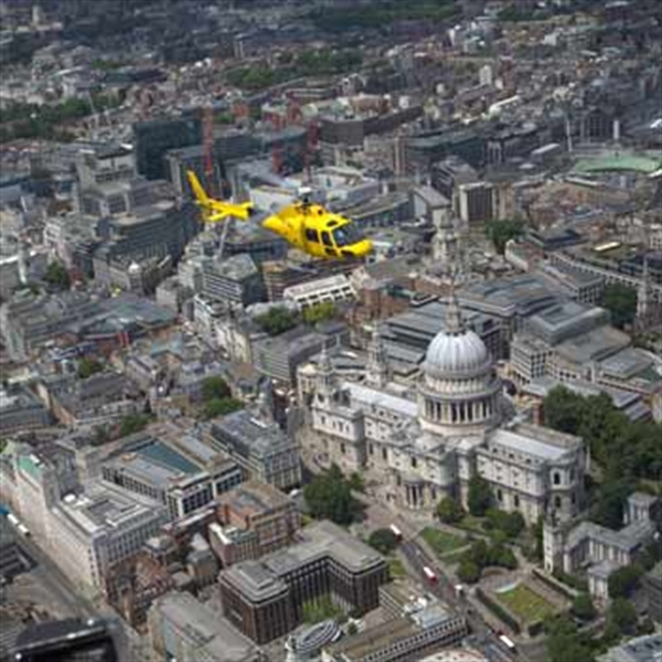 Helicopter st pauls london