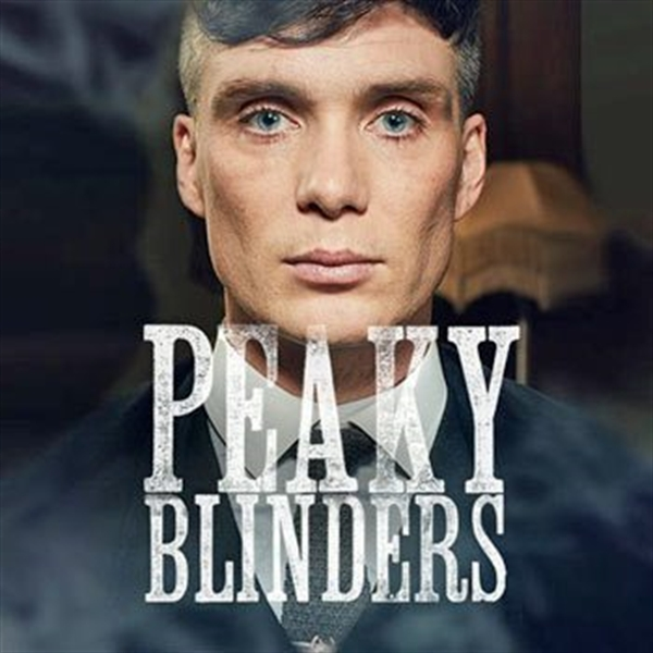 Peaky blinders strapline and tommy shelby