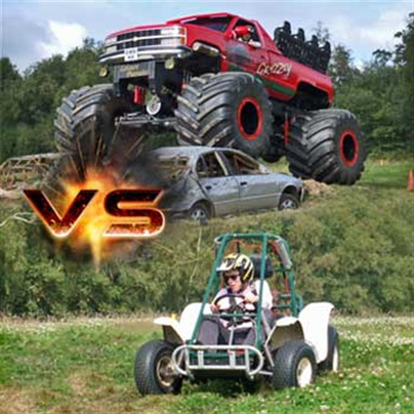 grizzly vs kart experience